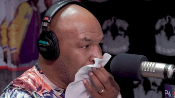 Qui West - Mike Tyson Gets Emotional When Asked About Tupac!
