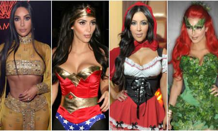 Entertainment News - Here Are All The Times Kim Kardashian Won Halloween