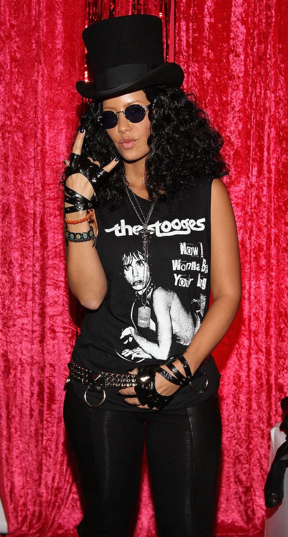 Amber Rose Halloween Slash
