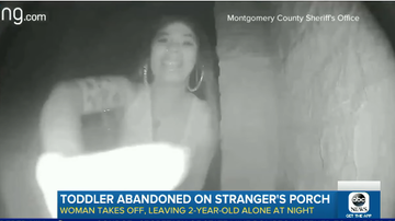 Beth Bradley - Woman abandoned  a toddler on a stranger's doorstep