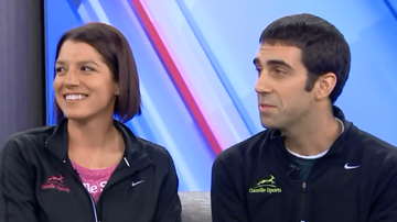Mac And Shmitty - This W. Mich Couple Plans To Marry In The Middle Of The Detroit Marathon