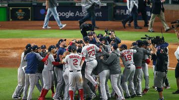 Sports Desk - Red Sox Eliminate Astros To Reach World Series