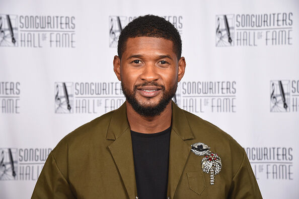 Usher - Getty Images