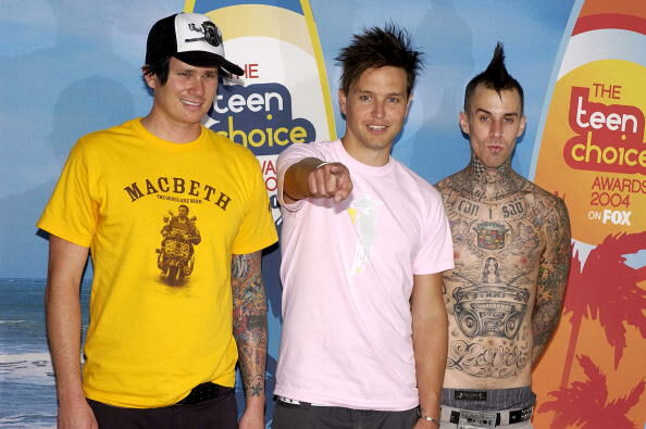 Blink 182 Getty