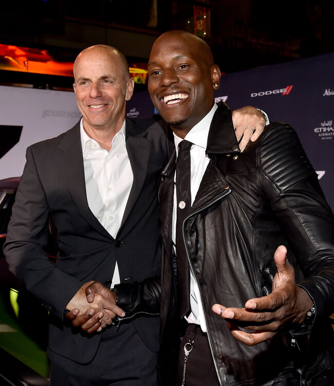 Neal Moritz and Tyrese (Getty)