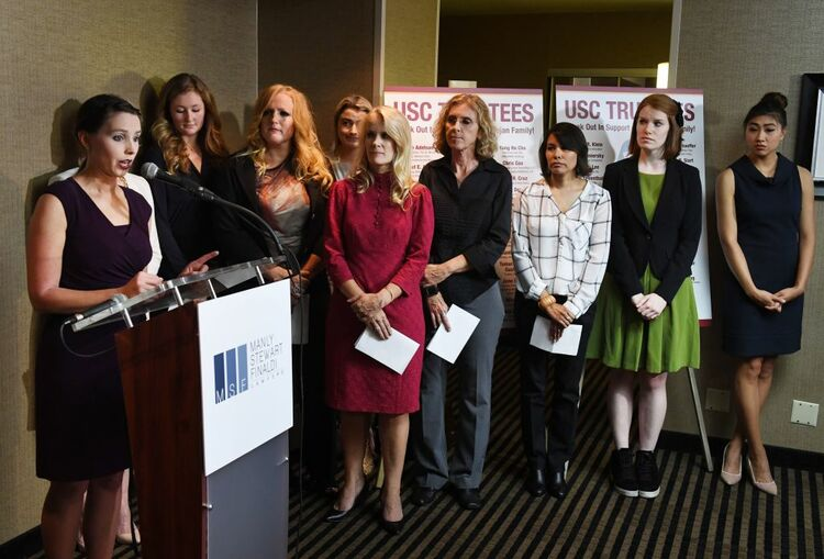 Another 93 women file lawsuits against USC