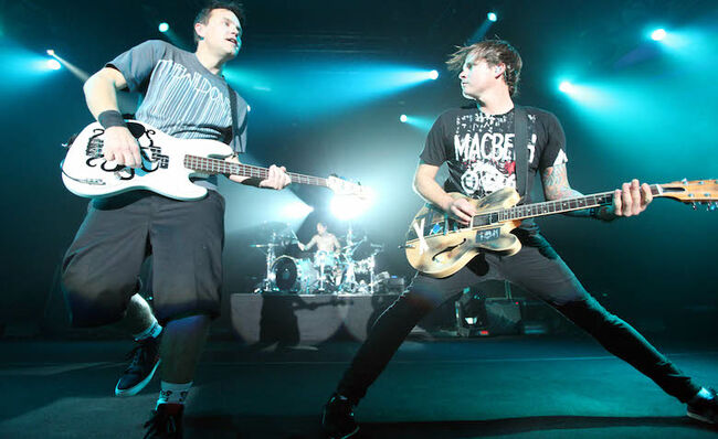Mark Hoppus Reveals Blink-182's First Show Was Played To An Audience Of One