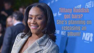 Angie Martinez - Tiffany Haddish is Planning on Releasing a Rap Album