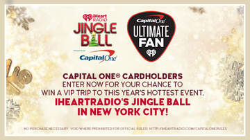 Contest Rules - Capital One® Cardholders, want to win the Jingle Ball trip of a lifetime?