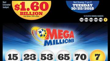 WHO Radio News - MegaMillions hits staggering $1.6 Billion jackpot