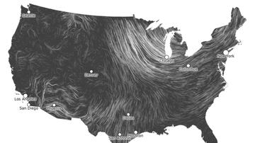- WIND ADVISORY: Windy Saturday,  Sunny Sunday LIVE WIND MAP