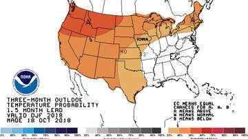 WHO Radio News - Iowa may have warmer than usual winter MAPS