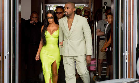 Trending - Kanye West Surprises Kim Kardashian With Birthday Floral Display