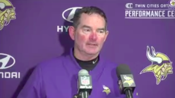 Vikings - WATCH: Mike Zimmer meets the media after win on the road over Jets