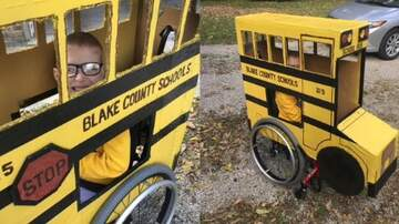 Matt and Aly - Grandpa Creates Amazing Halloween Costume for Grandson in Wheelchair