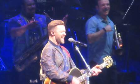 Jaime in the Morning! - Check Out Justin Timberlake Doing His Thing Saturday Night at the TU!!