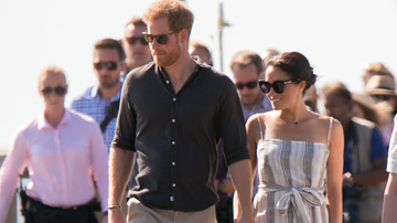 Entertainment News - Did Meghan Markle Break Royal Protocol With Thigh High Slit Dress?