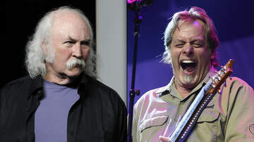Rock News - David Crosby Disses Ted Nugent as a Hack Who'll Never Make Rock Hall