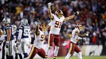 Dallas Cowboys - Redskins Edge Cowboys