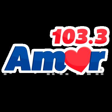 Amor 103.3 logo