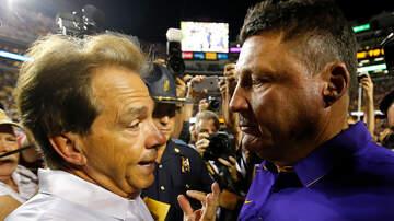 Louisiana Sports - LSU/Alabama Will Be Under The Lights At Tiger Stadium
