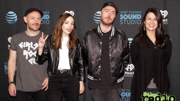 Radio 104.5 Studio Sessions - CHVRCHES Meet + Greet Photos - October 2018