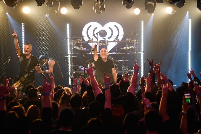 Disturbed iHeartRadio Album Release Party