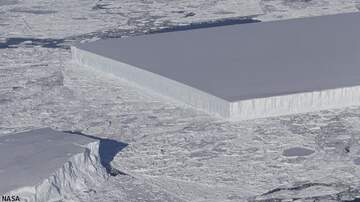 Coast to Coast AM with George Noory - NASA Spots Rectangular Iceberg