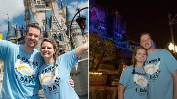 Tige and Daniel - Couple Visited 6 Disney Parks In 24 Hours