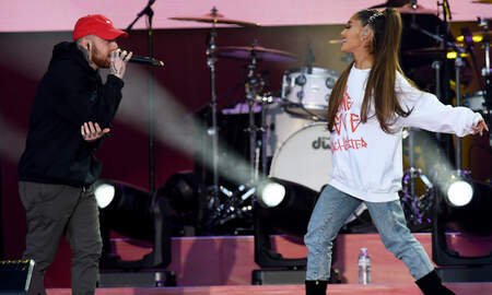 Music News - Ariana Grande Shares Sentimental Video Of Late Ex Mac Miller