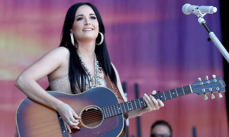 Music News - Kacey Musgraves Plays with Puppies, Answers Serious Questions