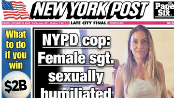 Steve - Headline: NYPD boss accused of stuffing panties in co-worker's mouth