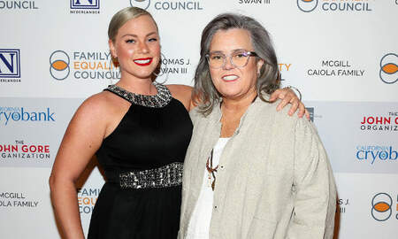 Entertainment News - Rosie O'Donnell Confirms Engagement To 33-Year-Old Elizabeth Rooney