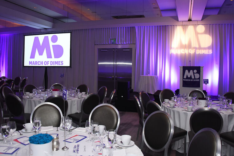 The March of Dimes Black Ties For Babies/Battle of The Chefs Gala