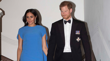 Entertainment News - Meghan Markle Shows Off Baby Bump In Stunning Evening Gown