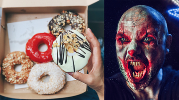 Weird News - Creepy Clowns Are Delivering Donuts To People This Month