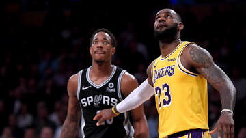 Sports Desk - Spurs Slip Past Lakers In OT