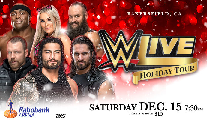 WWE LIVE! Holiday Tour