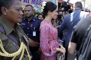 Meghan Markle Rushed Out Of Fiji Market Due To Security Concerns