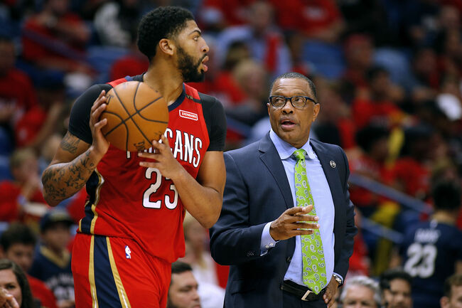 Anthony Davis Alvin Gentry Getty Images