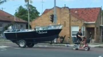 Lynch and Taco - Man Has License Suspended, Tows Boat With Mobility Scooter