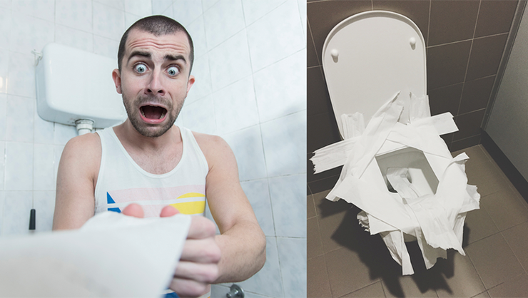 Brilliant Why You Should Never Put Toilet Paper On A Toilet Seat In A Dailytribune Chair Design For Home Dailytribuneorg