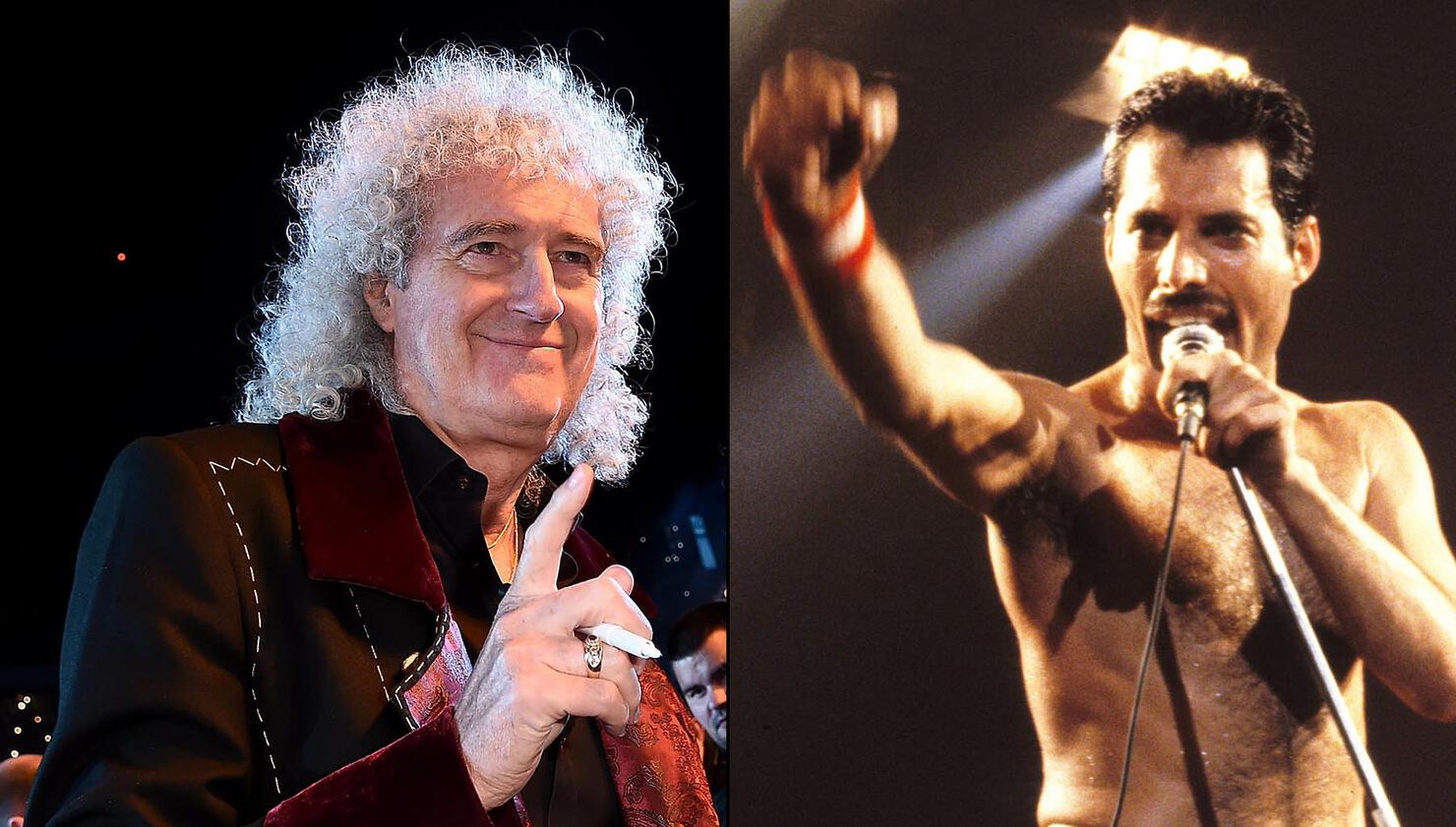 Brian May Says Freddie Mercury Would Like 'Bohemian Rhapsody' Movie