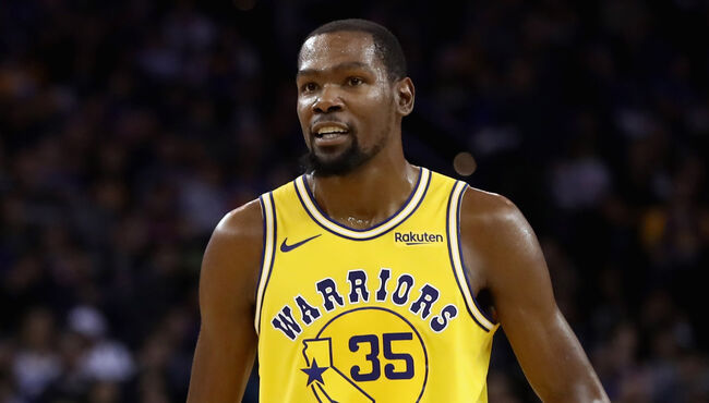 Watch Kevin Durant Invoke Mercy Rule on Behalf of Washington Wizards
