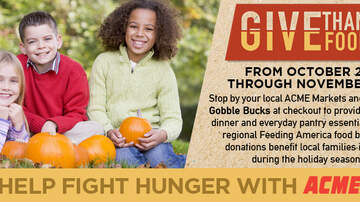 Whats New - LITE FM & ACME Markets Team Up to Give Thanks, Give Food!