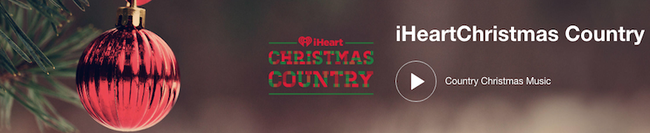 iHeartChristmas Country Radio