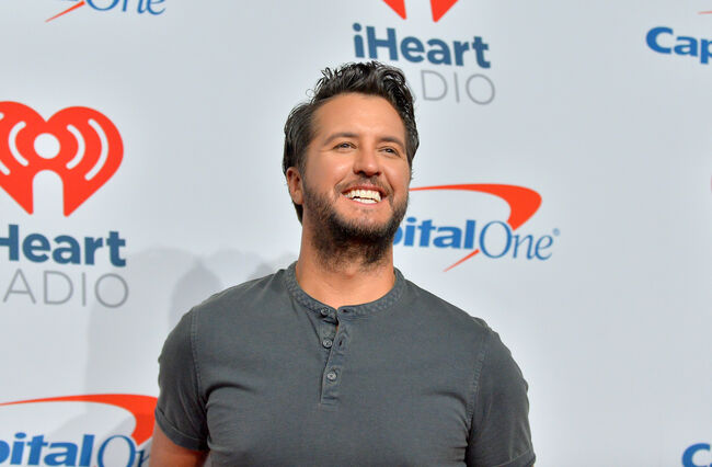 2018 iHeartRadio Music Festival - Night 2 – Press Room Luke Bryan