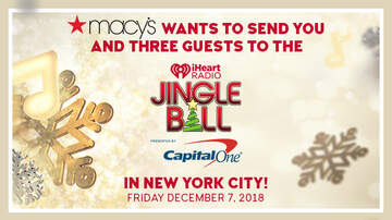 Reglas del Concursos - Macy's Wants To Send You And Three Guests To The iHeartRadio Jingle Ball!