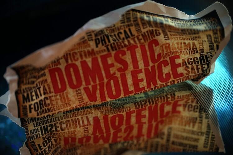 Domestic Violence Getty RF