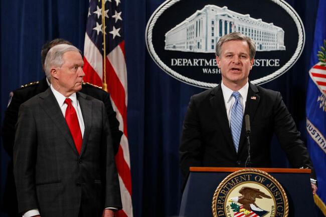FBI Director Chris Wray